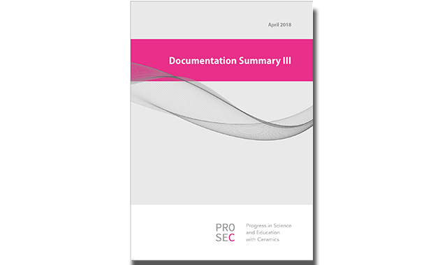 Documentation Summary III is a literature study about implants and all-ceramic restorations commissioned by PROSEC