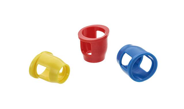 Nach der Abformung mit einer setcap wird für die Modellherstellung die labshoulder verwendet